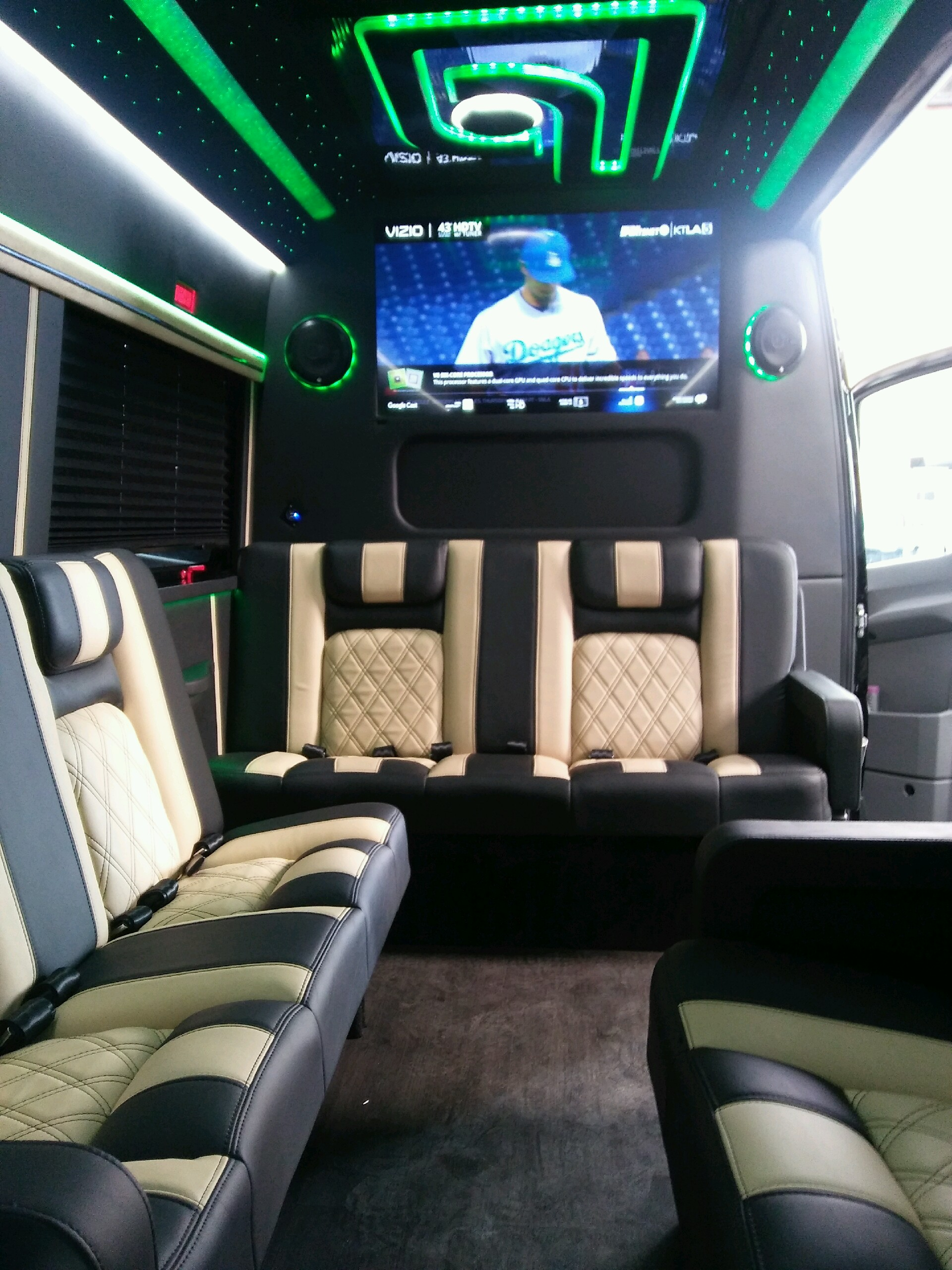 2017 Mercedes Benz 3500 Luxury Sprinter Limo For Sale