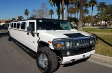 2003 white 180-inch hummer h2 limousine for sale #2490