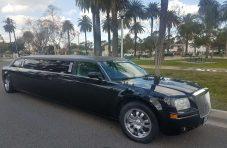 2006 black 120-inch chrysler 300 limo for sale #1011