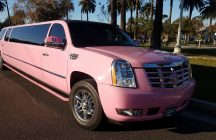 2007 pink 140-inch gmc yukon xl limousine for sale #1438