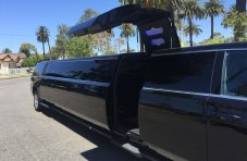 2016 black 220 chevy suburban jet door limo
