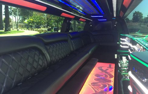 2016 black 220 chevy suburban jet door limousine j-seating