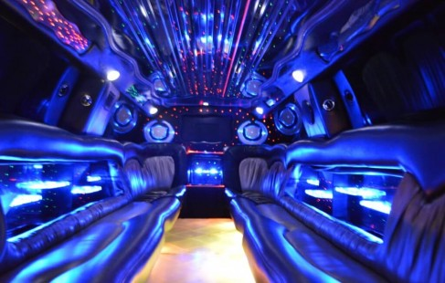 inside chevy limo