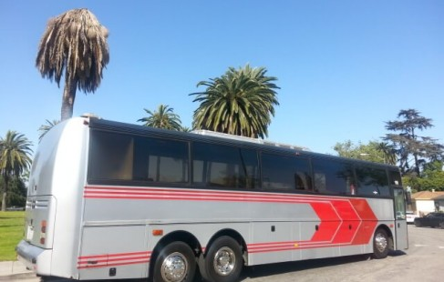 1995 vanhool 50 passenger party bus