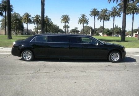 black 70 inch limo