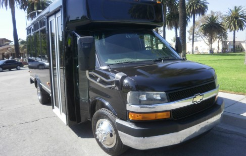black chevy g3500 party bus