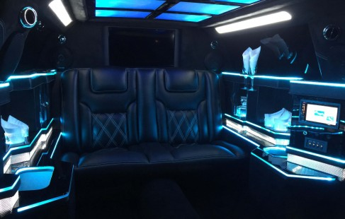 color change 70-inch chrysler limo