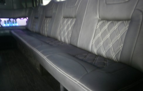 inside left chevy g3500 party bus