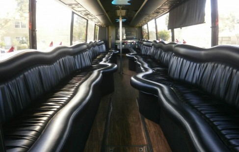 inside of party bus