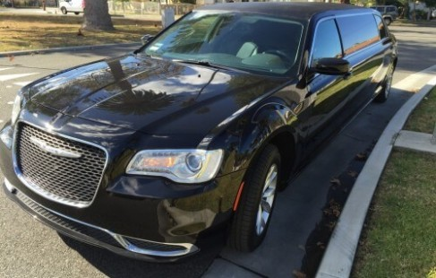 left front 70-inch chrysler limo for sale