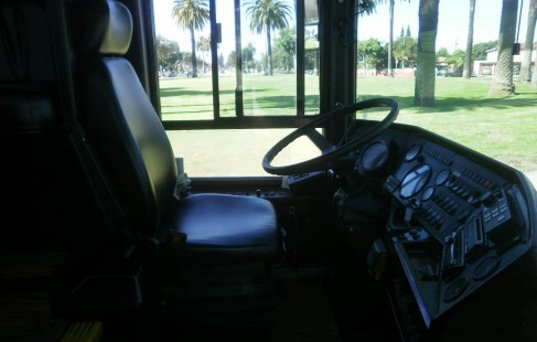 party bus driver seat
