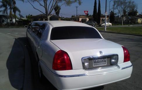 rear 180 inch lincoln town car