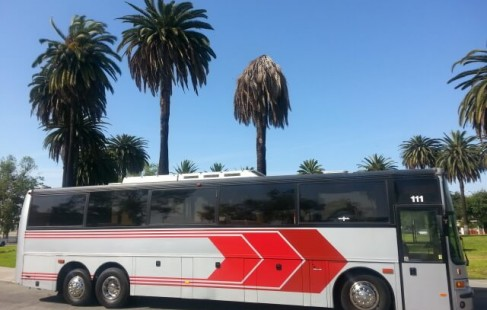vanhool 50 passenger party bus 1995