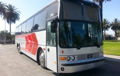 vanhool 50 passenger party bus