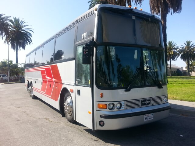 Vanhool 50 Passenger Party Bus For Sale Ford F550 #5047