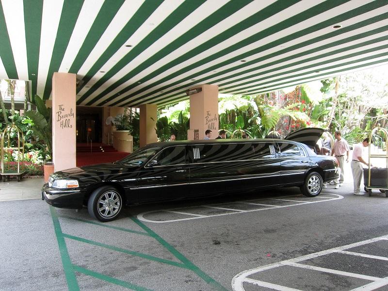 Hotel's Limousine Fleet