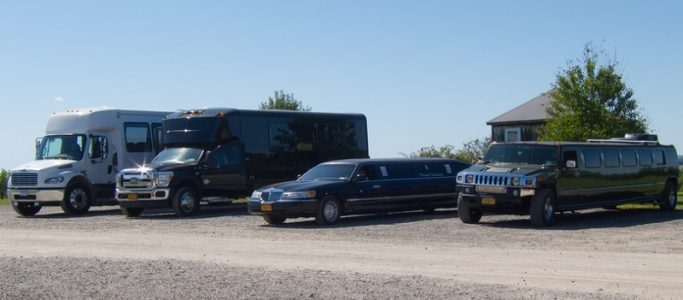 Variety of Limousines