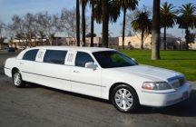 2004 lincoln town car limousine white 70-inch #673