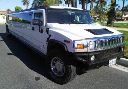 2006 white 200-inch coastal hummer h2 limousine for sale 2487