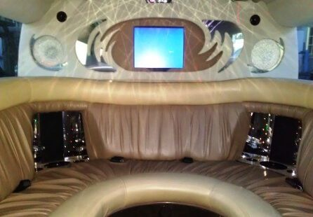 2006 white 200-inch coastal hummer h2 limousine for sale tv