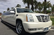 """pearl white 200"""" cadillac escalade limo for sale"""