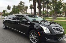 black 70-inch cadillac xts limousine for sale 620