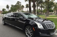 black 70-inch cadillac xts limousine for sale 620