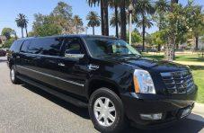2007 black 100-inch cadillac escalade esv limousine for sale 1228