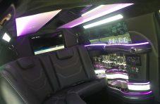 2015 white 70-inch chrysler 300 limousine #6506 ceiling