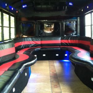 Party Bus Limo seating