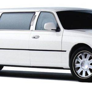 white-limo