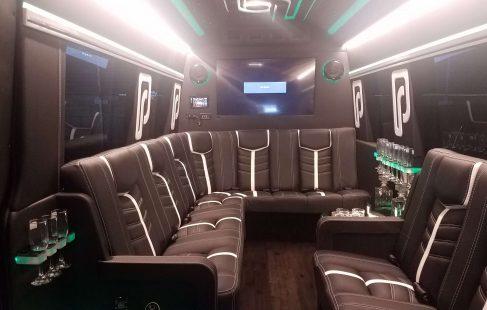 2016 black mercedes benz 3500 luxury sprinter interior