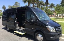 2016 black mercedes benz 3500 sprinter limo van for sale 1406