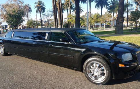 black 120-inch chrysler 300 limousine for sale 1292