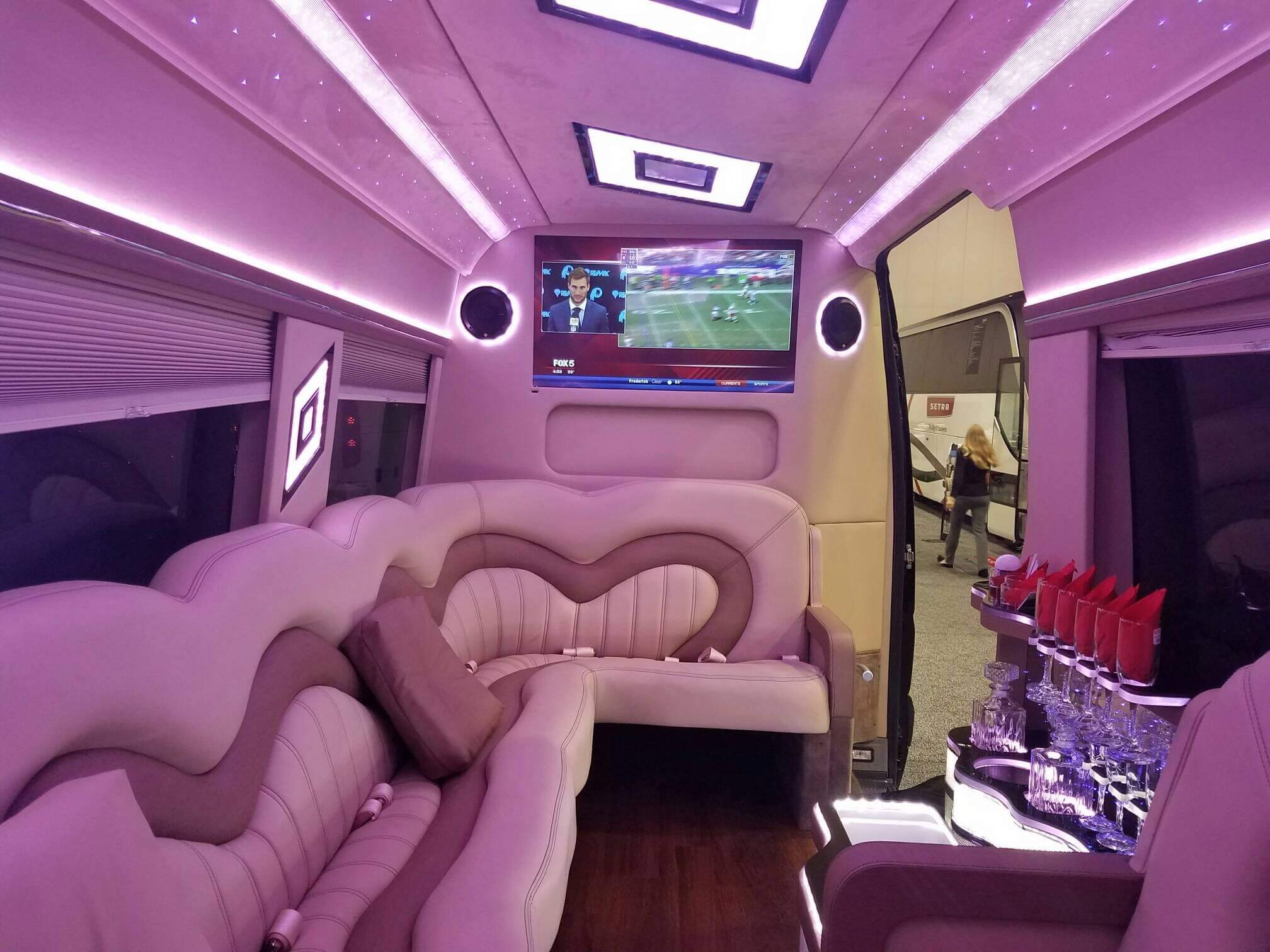 mercedes benz 3500 sprinter limo color change