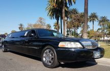 2008 black120-inch lincoln town car limousine for sale 10899