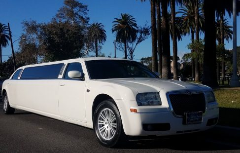 cool vanilla 140-inch chrysler 300 limousine for sale 1295