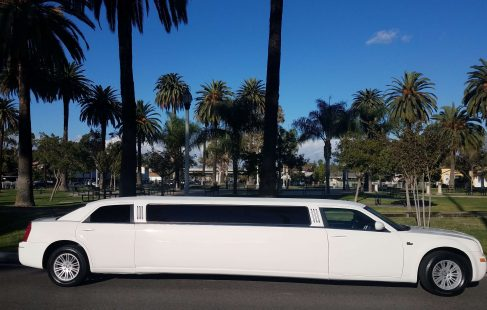 cool vanilla 140-inch chrysler 300 limousine for sale