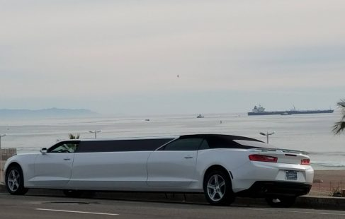 2017 white convertible chevy camaro 140-inch limousine for sale #22662