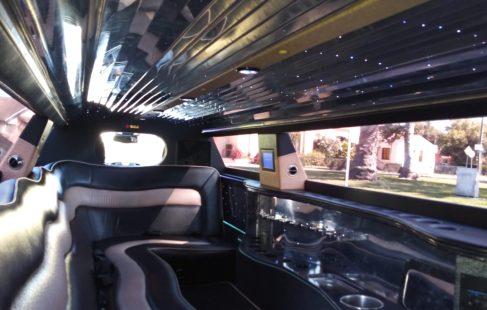 2011 White chrysler 300 limousine for sale
