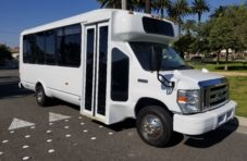 2013 White Ford E450 Party bus