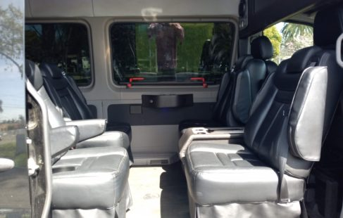 luxury sprinter van interior