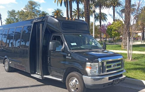 2012 Black Ford E450 Party bus for sale