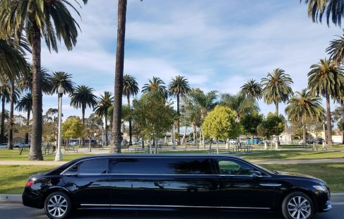 black 140-inch lincoln continental limousine for sale 1014