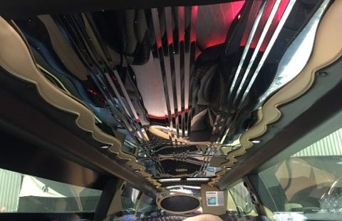 Cadillac Escalade 220 Inch Limousine#2445 27 Min