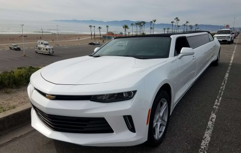 convertible chevy camaro 140-inch limousine for sale #22662