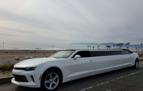 convertible chevy camaro 140-inch limousine for sale