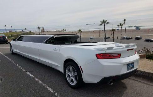 convertible chevy camaro limo