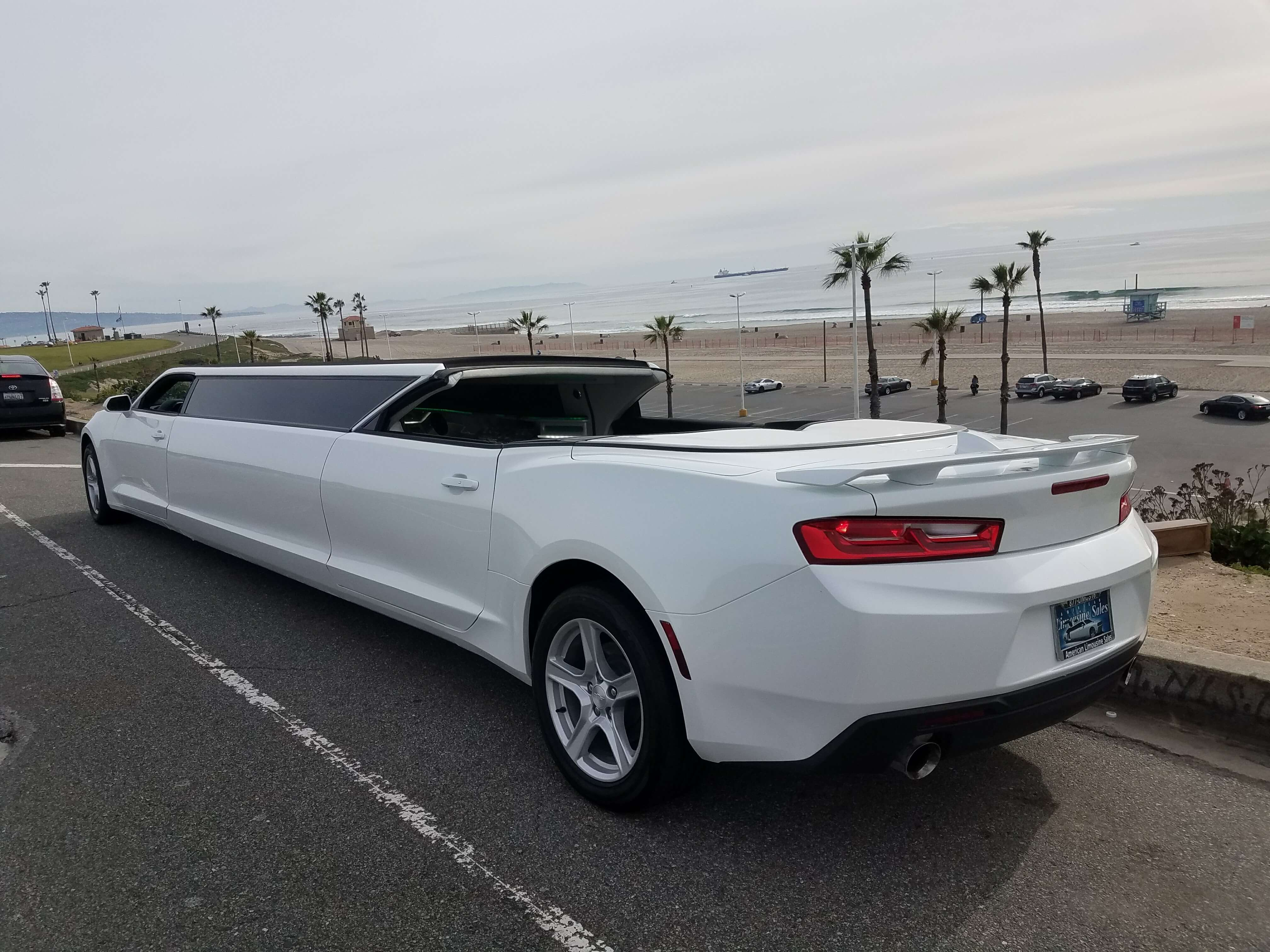 Limo For Sale >> Convertible Chevy Camaro 140-inch Limousine