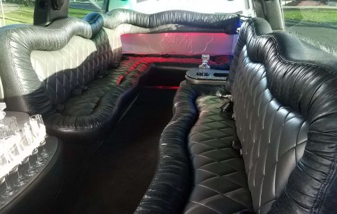 interior 140-inch gmc yukon xl limousine for sale #1438